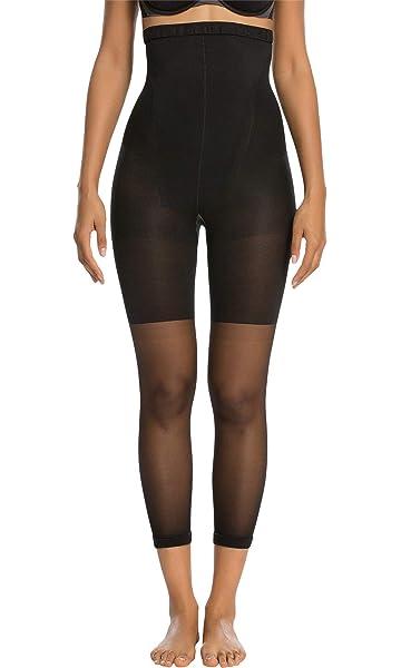 a44c3375030d8 Spanx Women s Higher Power Capri Black A at Amazon Women s Clothing store   Thigh Shapewear