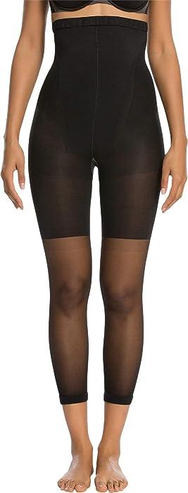 5bd2c0098c7 Spanx Women s Higher Power Capri Black A at Amazon Women s Clothing ...