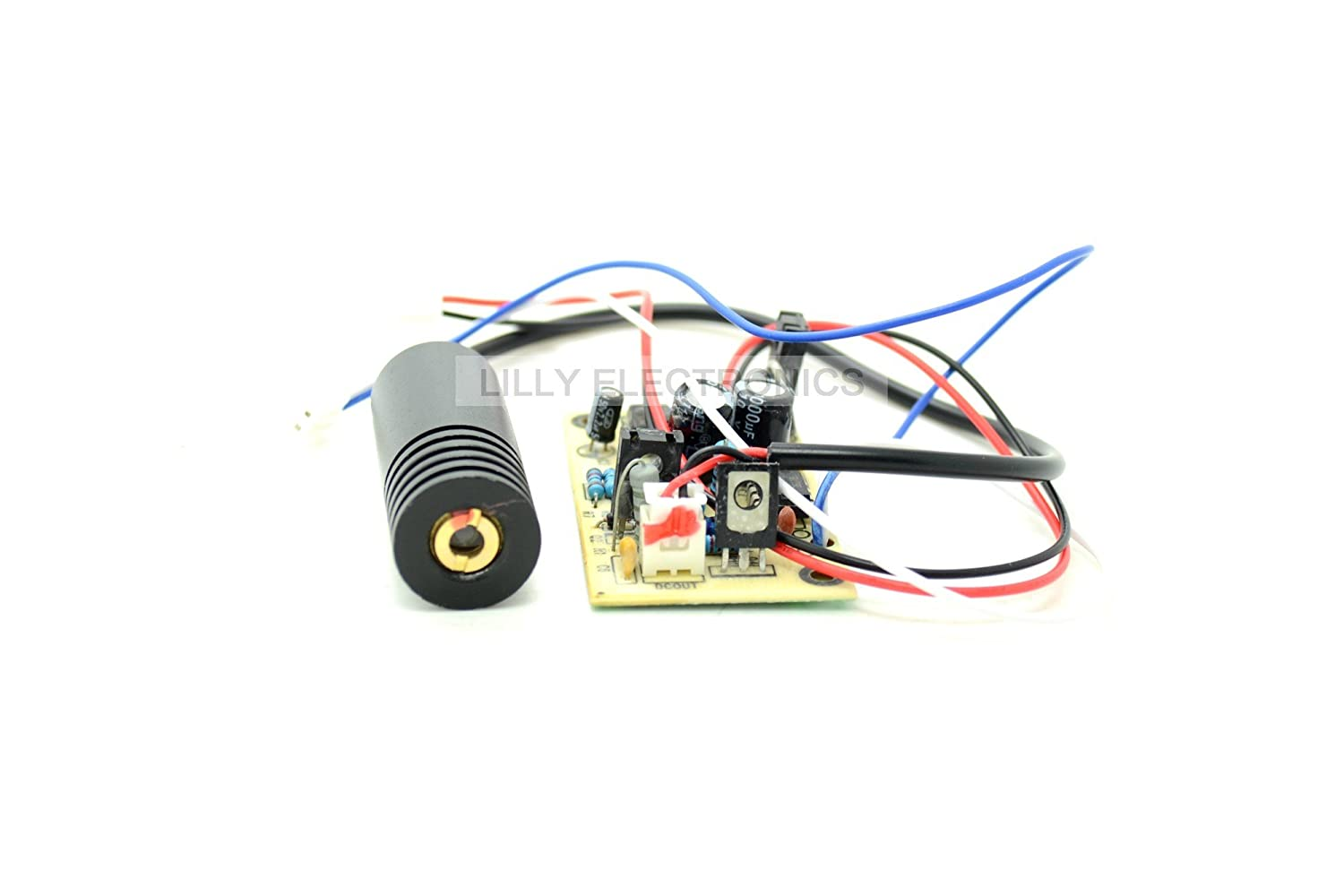 650  nm 150  mW Laser Rouge Dot Module 5  V W/Driver Out 18  x 45  mm Blazer