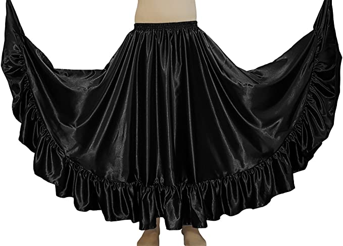 Amazon.com: themilestocks Mujer Danza del Vientre Satén 12 ...