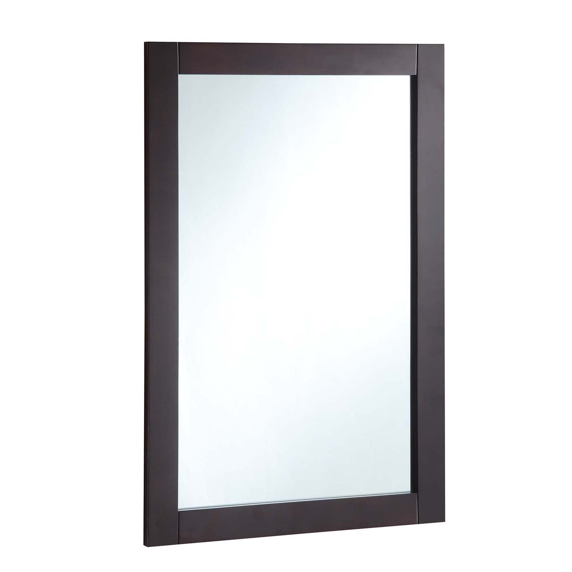 Design House 547075 20-Inch By 30-Inch Vanity Mirror, Espresso,
