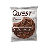 12-Ct Quest Nutrition Double Chocolate Chip Protein Cookie