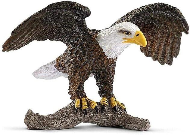 Papo AQUILA Calva plastica solida giocattolo Wild Zoo SEA BIRD Animale Predator NUOVO *