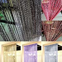 AU Ship String Door Curtain Beads Room Divider Tassel Fringe Beaded Window Panel