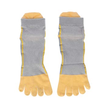 LIOOBO Calcetines con Cinco 5 Dedos Calcetines algodón Corte bajo ...