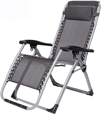 Chaise longue al aire libre ocio silla plegable oficina ...