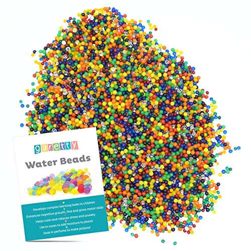 Garetty Expandable Water Beads are safe and Durable for Sensory Play or Decoration - Ounce 16 Slime