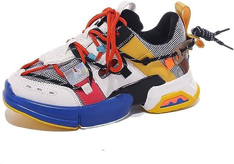 ASTAOT Patchwork Low Top Zapatillas De Deporte De Mujer Zapatos De ...