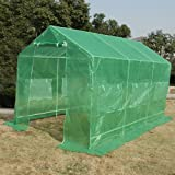ON Sale! Quictent 12'x7'x7′ Portable Backyard Large Greenhouse Green Garden Hot House New For Sale