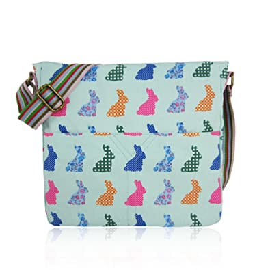 SALE SALE - New Childrens Designer Style Canvas RABBIT Print Cross body Messenger  Bag - JC 5f300f7cbdbe0