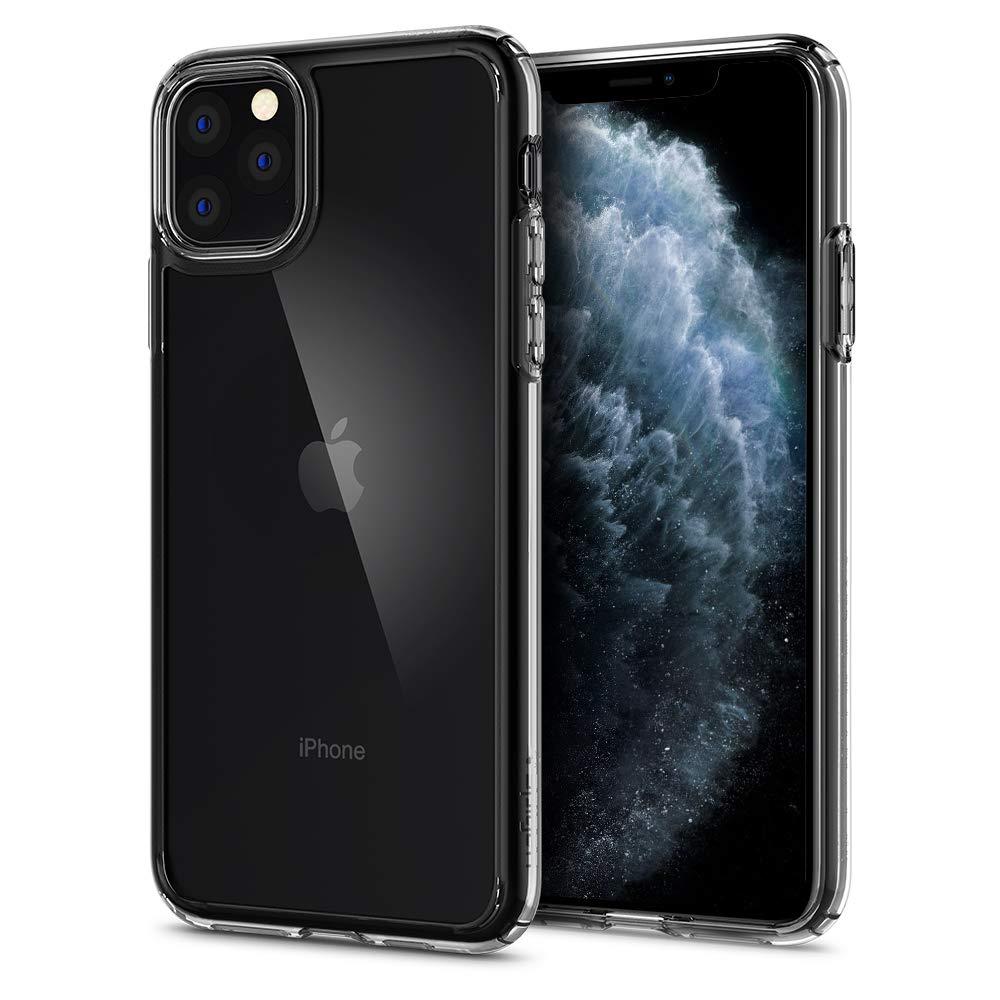 Funda iPhone 11 pro max Spigen Ultra Hybrid Crystal Clear