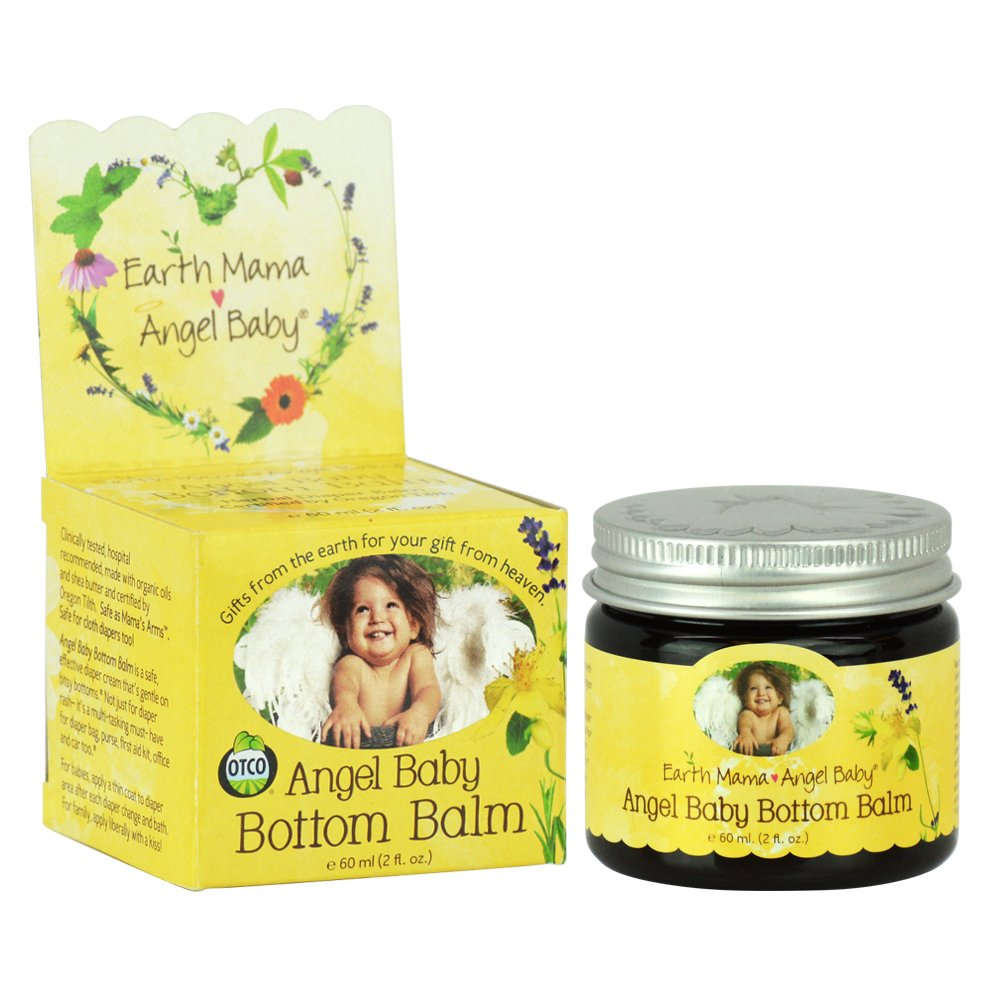 Angel Baby Bottom Balm, 60ml Earth Mama Angel Baby 31