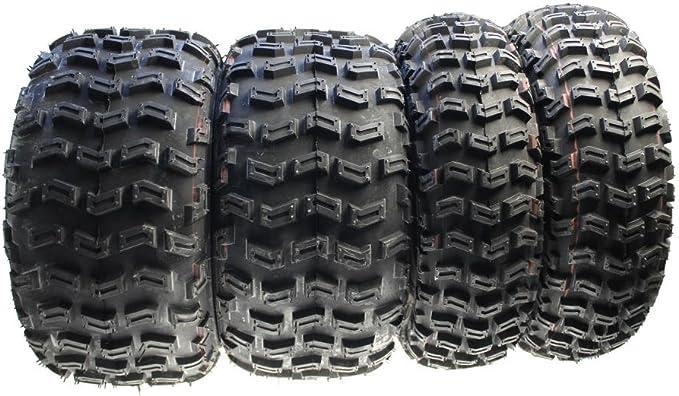 Citomerx - Lote de 4 ruedas para quad (delanteras y traseras ...
