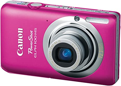 Image result for canon powershot elph 100 hs pink
