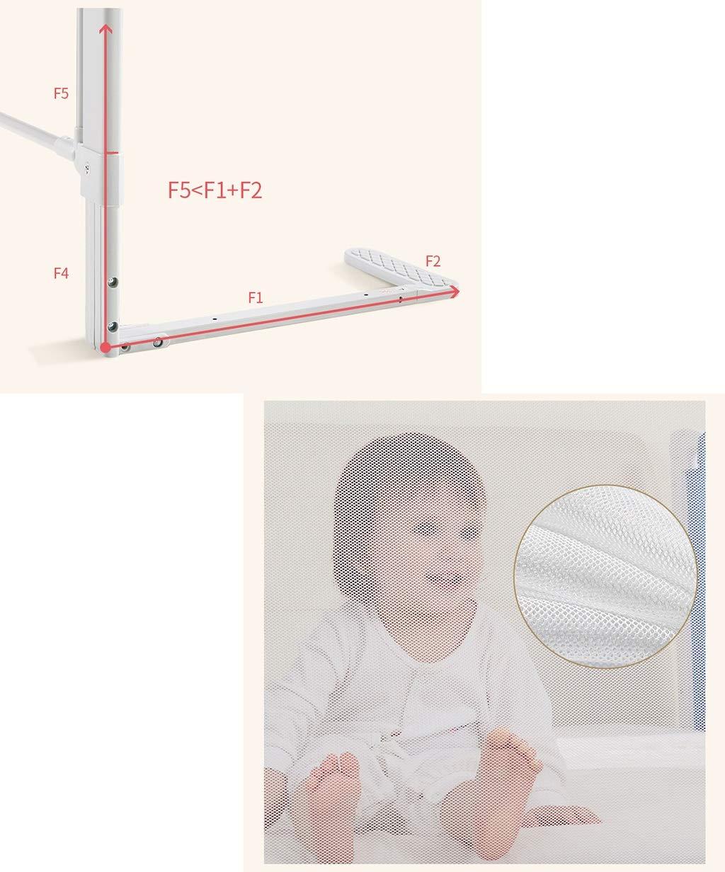 Säuglingszaun, Multifunktions-Erhöhungs-Bett-Sicherheits-Schutzzaun Baby-Kriechen, Baby-Kriechen, Baby-Kriechen, Das lernt, Anti-Fall Zaun, 1.5-2M zu Gehen B07JQXK6JX Firstzelte Super Handwerkskunst c35f8c