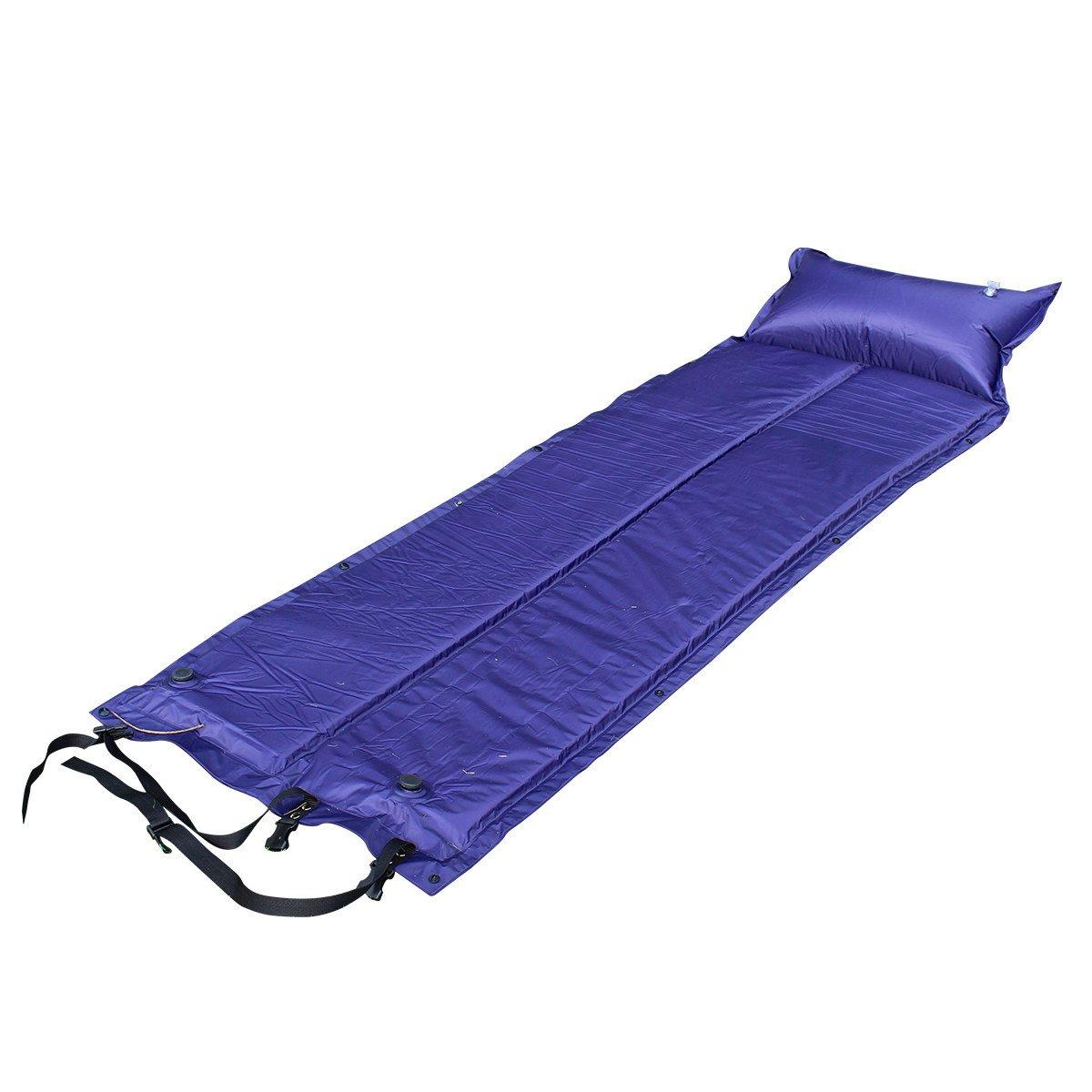 Outdoor Camping Camping Mit Kissen Auto Aufblasbare Matte Feuchtigkeit Pad Pad Zelt Kissen,A1