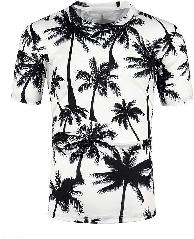 Sayla Camiseta para Hombre Manga Corta Verano Polo Camisas Casual ...