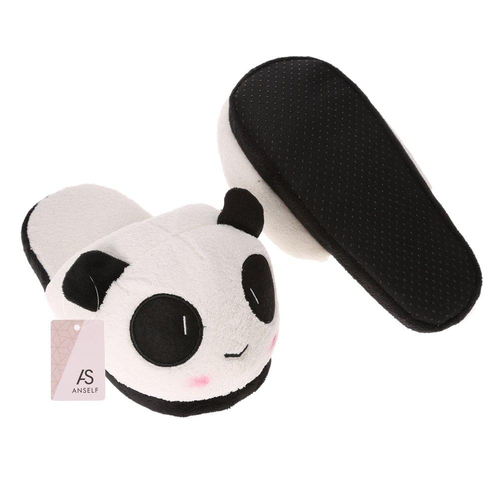 Anself Chaussons Cotons Panda en Peluche Mignon Doux  Amazon.fr  Cuisine    Maison 2967dce48eba