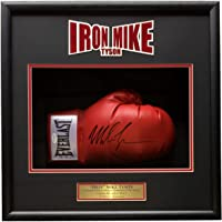 $438 » Mike Tyson Signed Red Right Hand Everlast Boxing Glove Shadowbox JSA ITP