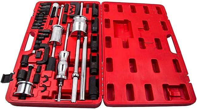 Tuningsworld 40tlg Injektoren Auszieher Werkzeug Diesel Injektor Abzieher Cdi Einspritzdüsen Auto