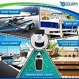 Cuda Powersports Trailer Bunk Carpet for Boat