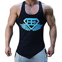 14d30556fb940 EVERWORTH Men Muscle Fitness Gym Stringer Tank Tops Bodybuilding Workout  Sleeveless Shirts