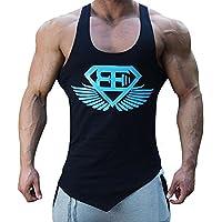 d79baa6ff8a7b EVERWORTH Men Muscle Fitness Gym Stringer Tank Tops Bodybuilding Workout  Sleeveless Shirts