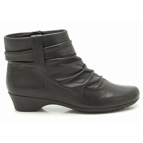 Clarks Matrona Ella Mujer Botines 3 E (W) UK/ 35.5 EU Negro: Amazon.es: Zapatos y complementos