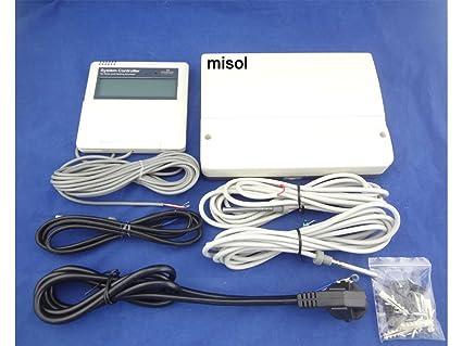 Controlador de calentador de agua SOLAR MISOL/3 sensores/220 V/para calentador