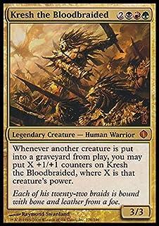 Kresh the Bloodbraided ~ FTV Legends ~ FOIL ~ NM ~ EDH ~ Commander ~ MTG ~ Magic
