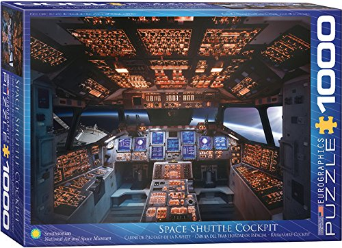 EuroGraphics Shuttle Cockpit 1000 Piece Puzzle
