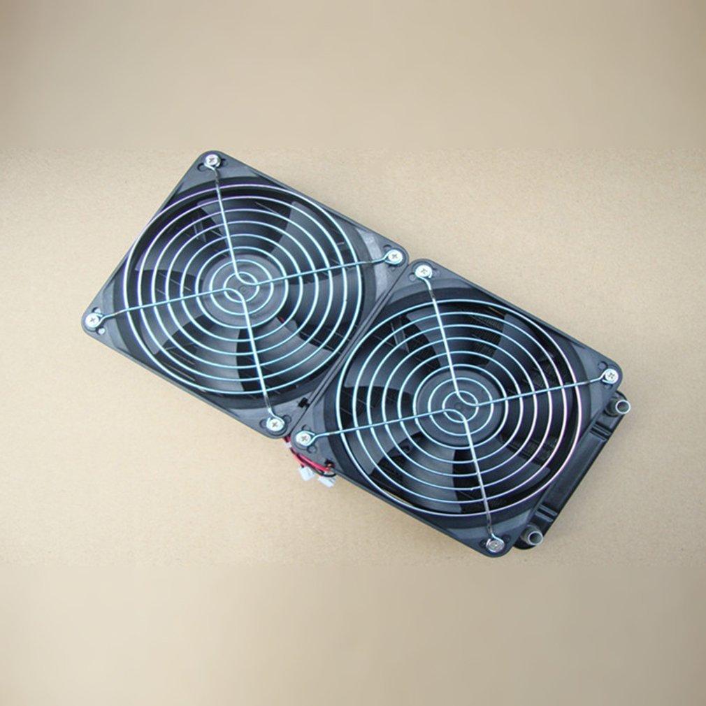 Qulable Pure Aluminum 240mm Water Cooling Radiator Water Cooler Heat Exchanger