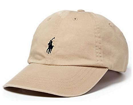 d2d066e15317 Image Unavailable. Image not available for. Color  Polo Ralph Lauren  Classic Baseball Cap Khaki ...