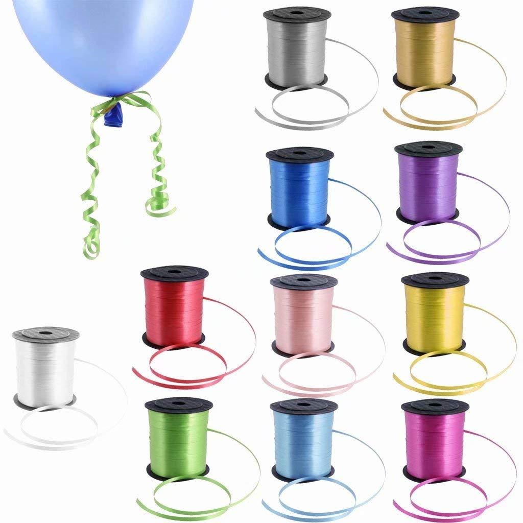 Ruban Attache Ballon D/écoration pour Mariage F/ête Anniversaire