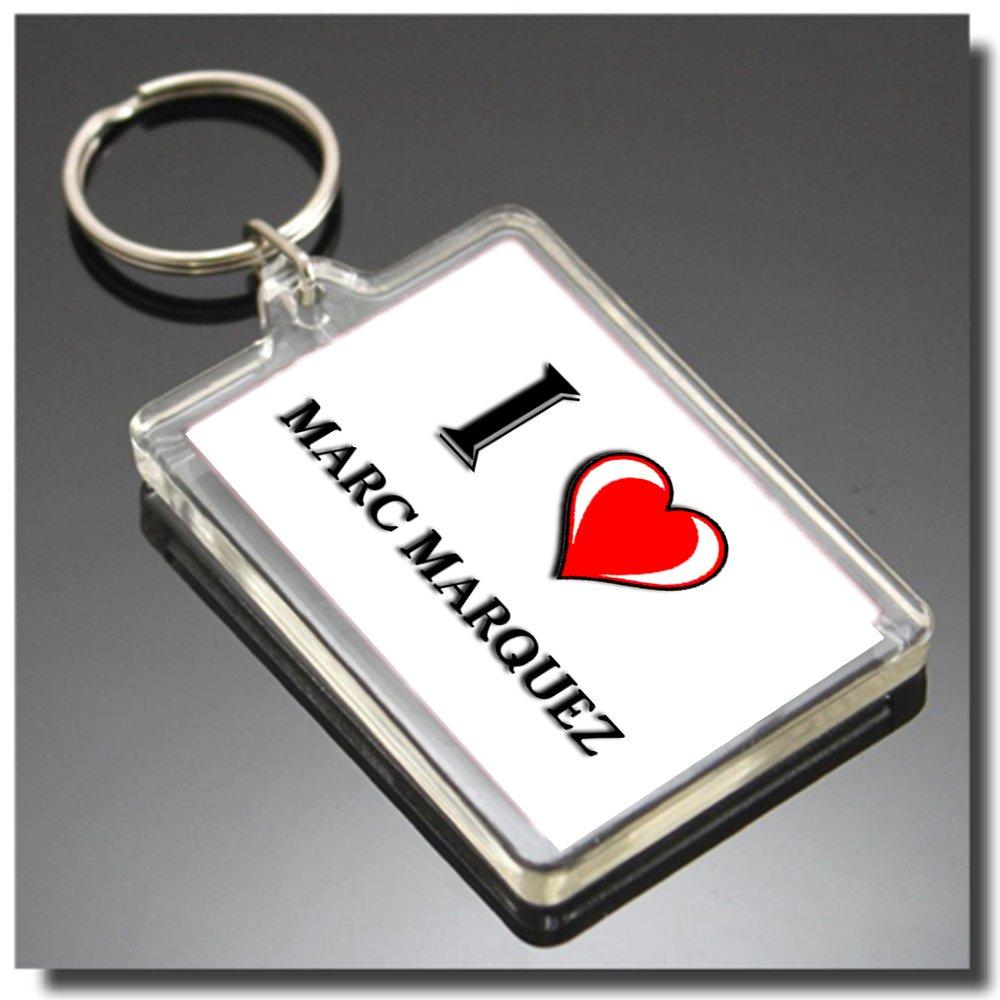 CFL I HEART MARC MARQUEZ KEYRING - I LOVE MARC MARQUEZ ...