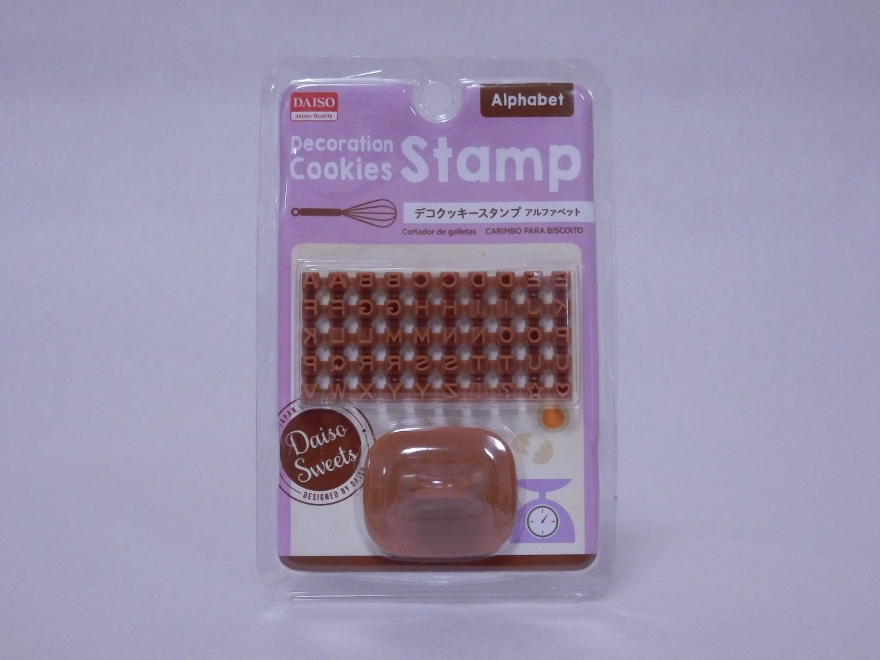Decoration Cookies Stamp - Alpabet-stamps