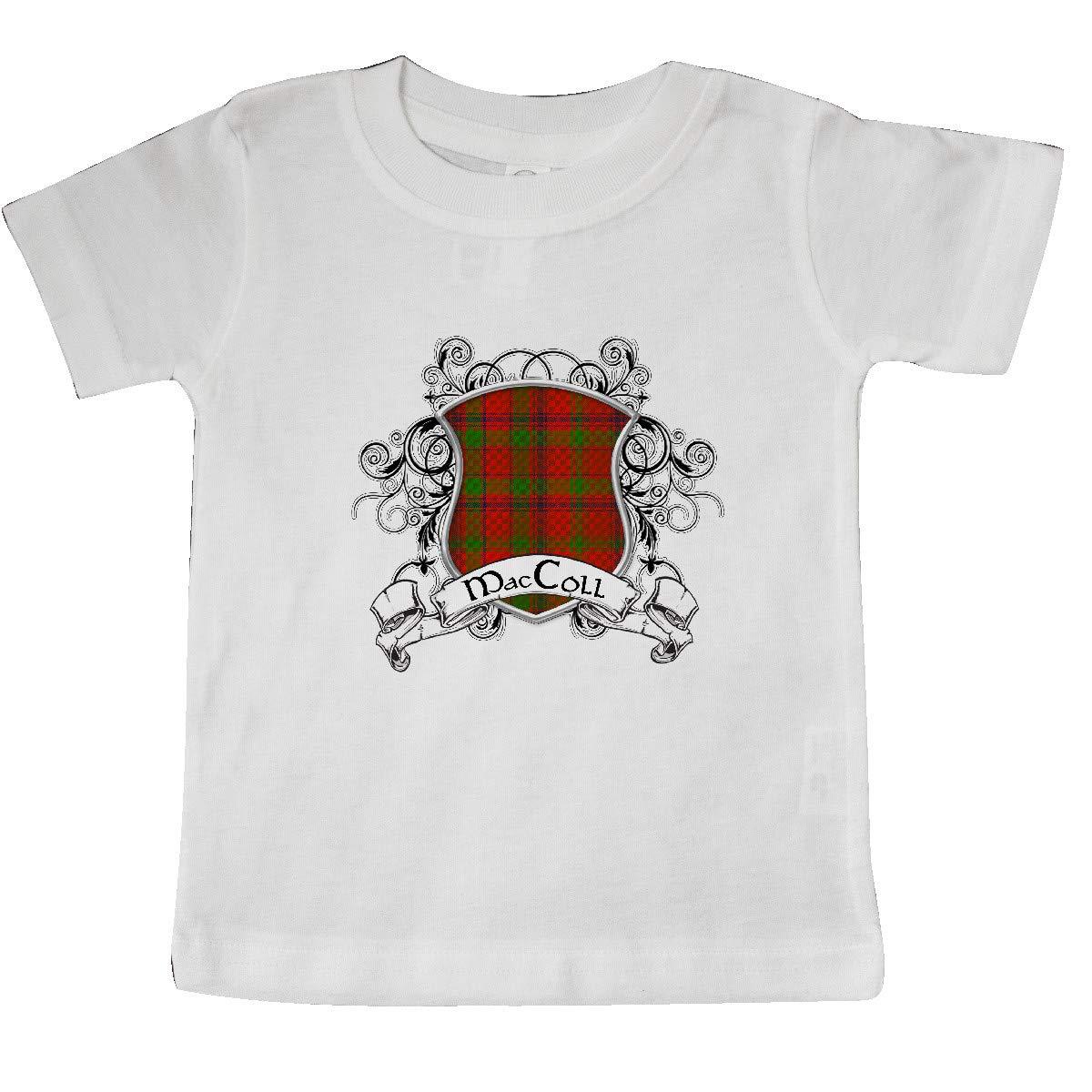 inktastic MacColl Tartan Shield Baby T-Shirt