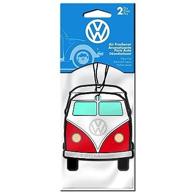 Plasticolor 005532R01 VW Volkswagon Bus Car Air Freshener - 2 Pack: Automotive