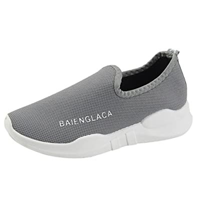 ffb614bcb Sneakers Femme Tennis Large à Enfiler Chaussures Plates Baskets Compensées  Overdose Automne Hiver Casual Sportwear
