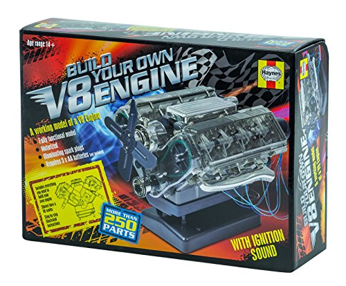Haynes Automotive Build Your Own V8 Engine DIY Twin Overhead Cam Model Kit New ,#G14E6GE4R-GE 4-TEW6W283671 by Tinflyphy