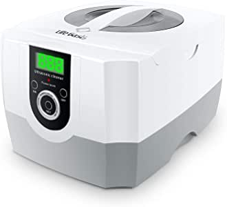 Ultrasonic Cleaner Super Large Capacity 1400ml Jewelry Cleaner with Cleaning Basket Ultrasonic Cleaning Machine for Cleaning Glasses Waterproof Watches Dentures Coins Circuit Board
