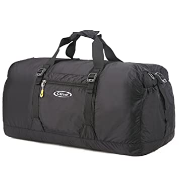 G4Free 45L Foldable Gym Bag Lightweight Travel Duffel For Women Ladies And Men