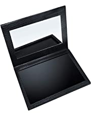 Allwon Magnetic Palette Empty Makeup Palette with Mirror for Eyeshadow Lipstick Blush Powder