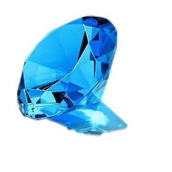 Glasdiamant blau
