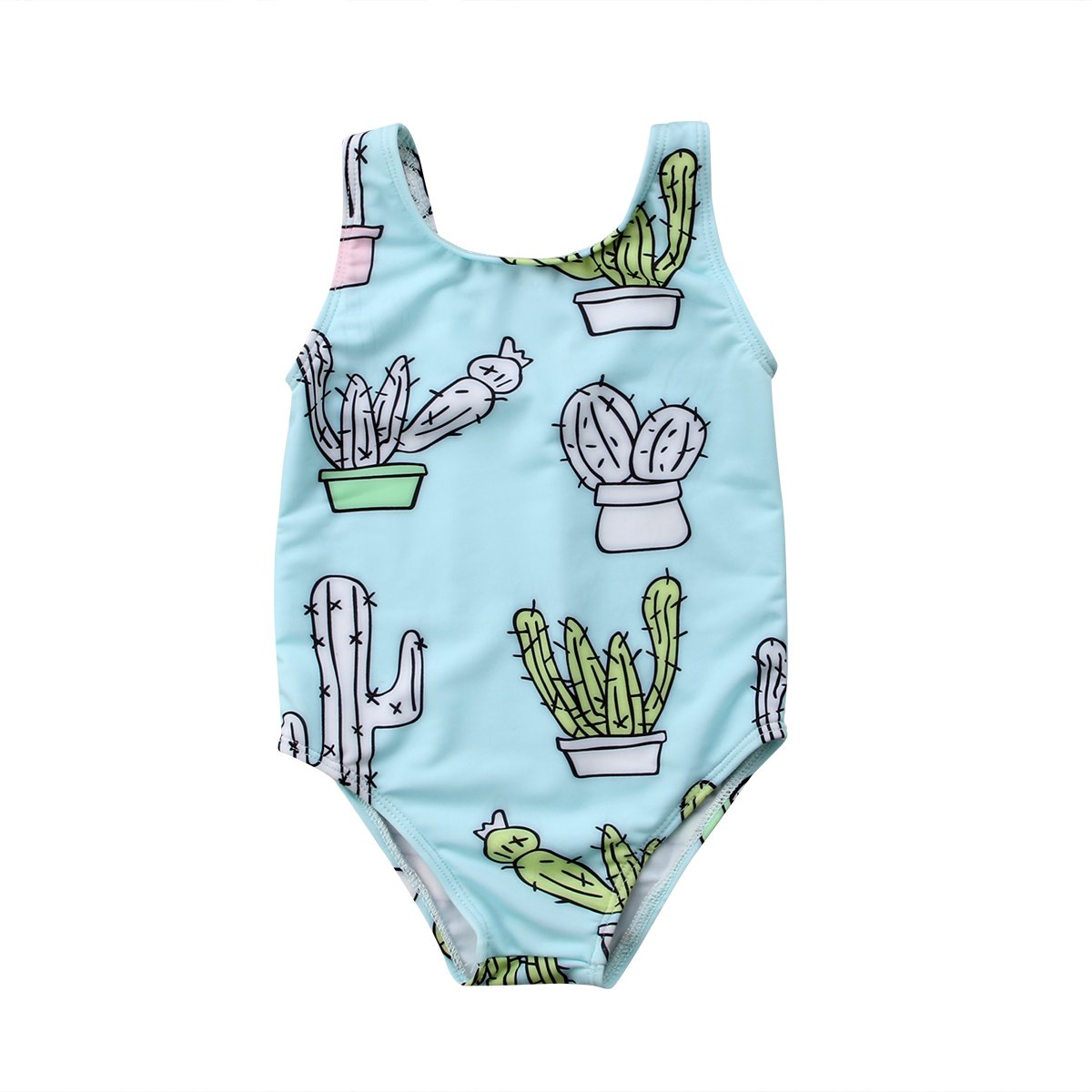 fa52eb9dcfdbc Amazon.com: ITFABS Newborn Baby Girl Cactus Swimsuit Bathing Suit Bikini  Mommy Girls Matching Swimwear Beach Wear: Clothing