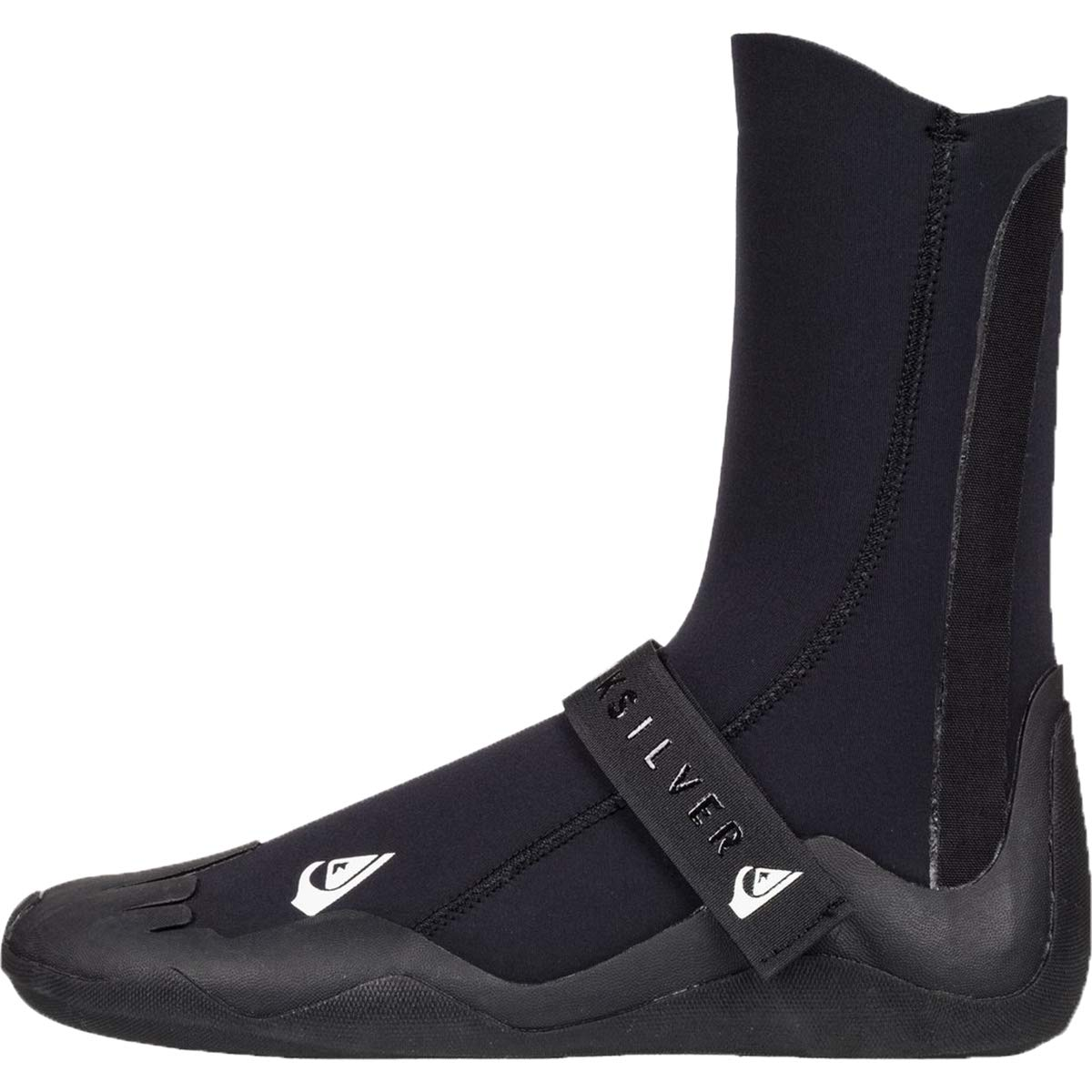 Quiksilver Mens 5Mm Syncro - Round Toe Surf Boots Round Toe Surf Boots Black 8