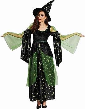 Para disfraz de bruja para Carnaval Maga Halloween: Amazon.es ...