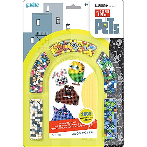 Perler 80-62995 Secret Life of Pets Fused Bead Activity (Perler Bead Dog)