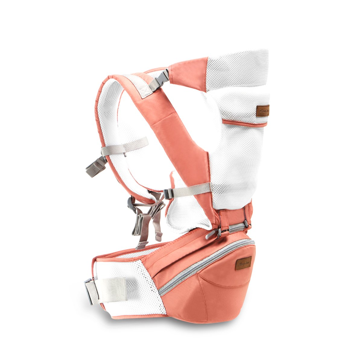 SONARIN 3 en 1 multifonction Hipseat Baby Carrier, Porte-bébé, ergonomique, Sac maman,100% coton, Soutien respirant en maille, facile à supporter et facile maman, confortable et apaisante pour bébés, adapté à la croissance de votre enfant, 100% GARANTIE e