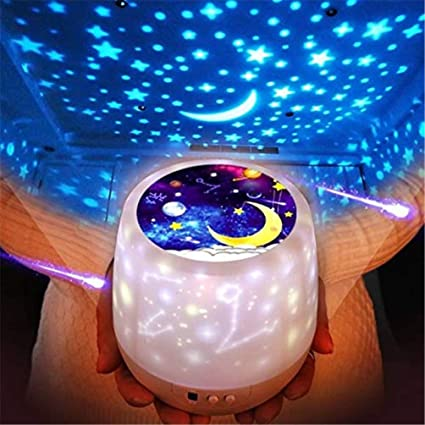 Luces nocturnas para niños, proyector de estrellas Universe, luz ...
